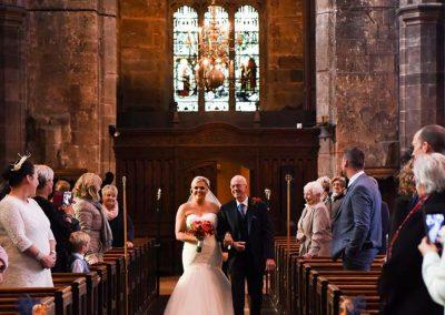 Jason and Carol's Wedding Photography Leigh Parish Church 2018
