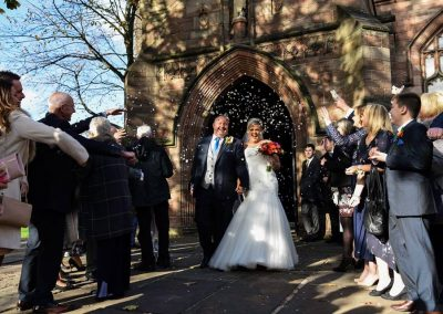 Jason and Carol's Wedding Photography Leigh Parish Church 2018